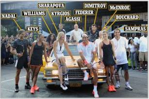 Final NYC Elite Tennis Players Taxi