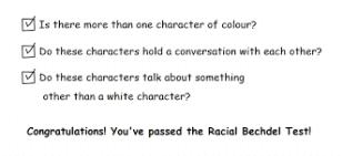 racial becdel test