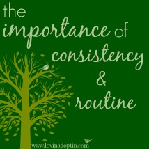 consistencyroutine